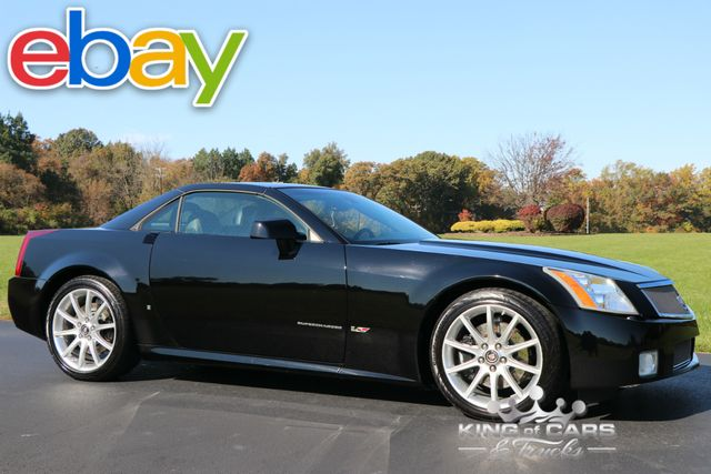 2006 Cadillac Xlr-V Supercharged CONVERTIBLE 52K ACTUAL MILES MINT HARDTOP