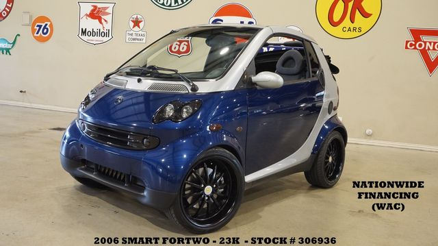 2006 Smart Fortwo Passion Cabriolet PWR TOP,JL AUDIO,GENIUS WHLS,23K
