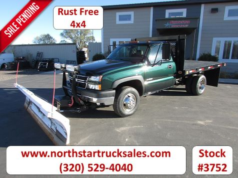2006 Chevrolet 3500 4x4 Flat Bed Truck  in St Cloud, MN
