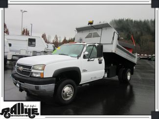 2006 Chevrolet 3500 Silverado, Dump Bed/ Snow Plow 6.6L Diesel in Burlington WA, 98233