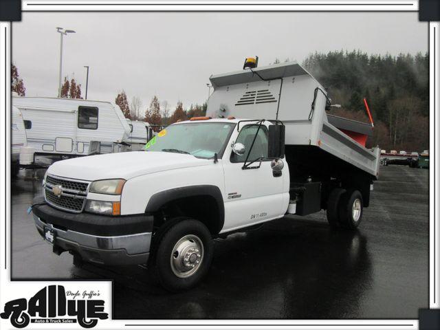 2006 Chevrolet 3500 Silverado, Dump Bed/ Snow Plow 6.6L Diesel