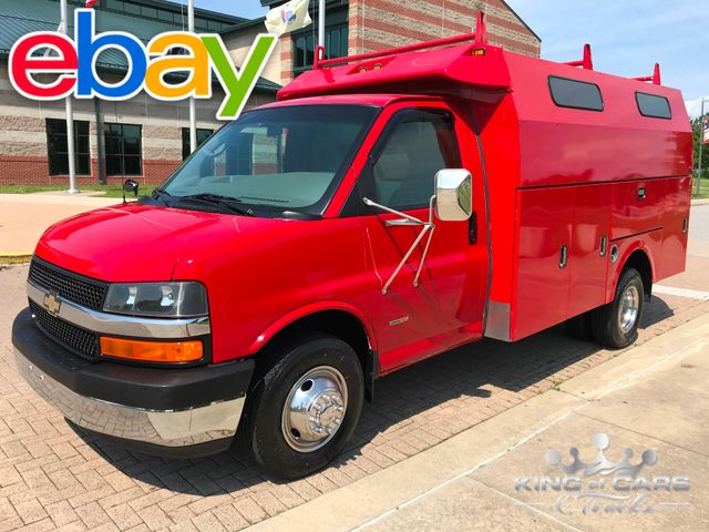 2006 Chevrolet 3500 Duramax Diesel UTILITY WALK IN VAN ONLY 75K MILES in Woodbury, New Jersey 08096