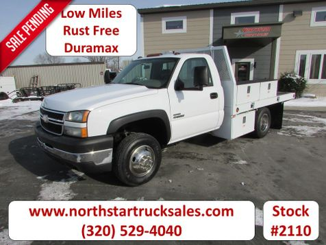 2006 Chevrolet 3500 Duramax Flatbed Truck  in St Cloud, MN
