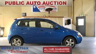 2006 Chevrolet Aveo LT   JOPPA, MD   Auto Auction of Baltimore  in Joppa MD