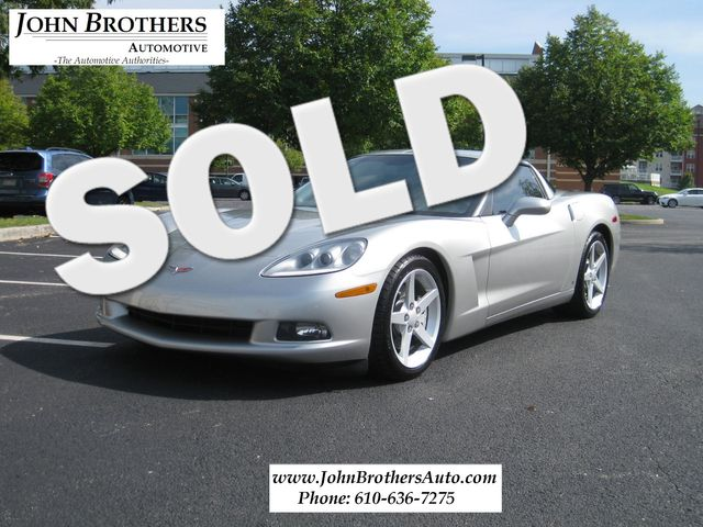 2006 Sold Chevrolet Corvette Conshohocken, Pennsylvania