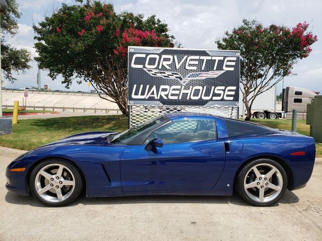 2006 Chevrolet Corvette Coupe 3LT, NAV, HUD, 6-Speed, Polished, Nice in Dallas, Texas 75220