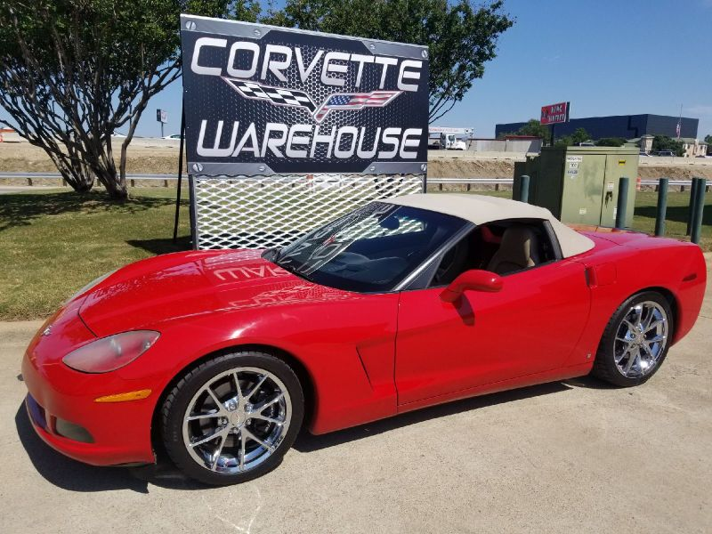 2006 Chevrolet Corvette Convertible Auto, F55, Pwr Top, Spyder Chromes! | Dallas, Texas | Corvette Warehouse