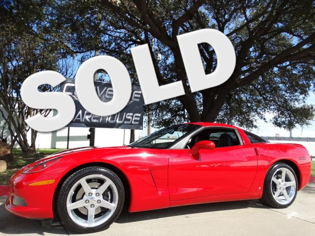 2006 Chevrolet Corvette Coupe 3LT, F55, Auto, Polished Wheels, Only 30k!   Dallas, Texas   Corvette Warehouse  in Dallas Texas