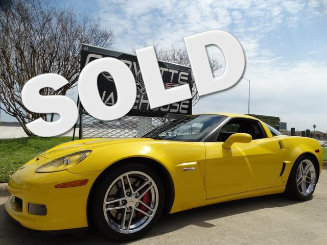 2006 Chevrolet Corvette Z06 Hardtop, 2LZ, Polished Whees, Only 34k! | Dallas, Texas | Corvette Warehouse  in Dallas Texas