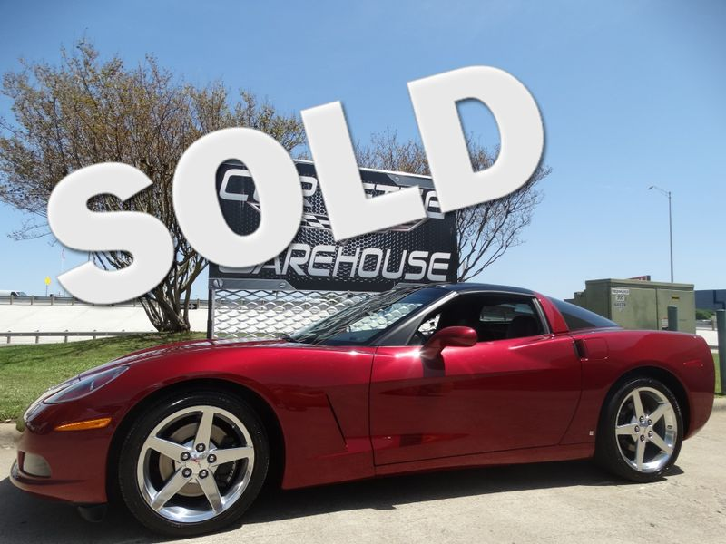 2006 Chevrolet Corvette Coupe 6 Speed, Glass Top, Polished Wheels 39k!   Dallas, Texas   Corvette Warehouse