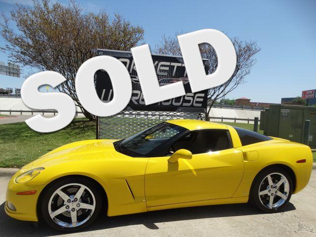 2006 Chevrolet Corvette Coupe 3LT, Z51, 6 Speed, Chromes 45k! | Dallas, Texas | Corvette Warehouse  in Dallas Texas