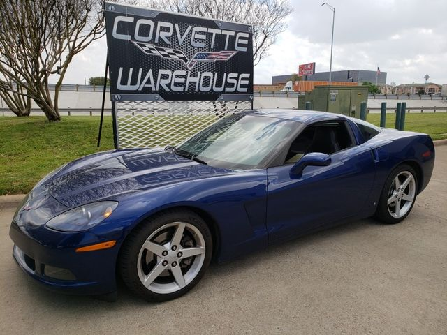2006 Chevrolet Corvette Coupe 3LT, 6-Speed, HUD, Polished Wheels Only 47k! | Dallas, Texas | Corvette Warehouse  in Dallas Texas