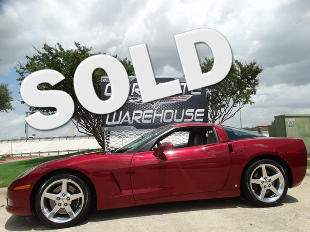 2006 Chevrolet Corvette Coupe 3LT, NAV, Auto, Polished Wheels, Only 15k! | Dallas, Texas | Corvette Warehouse  in Dallas Texas