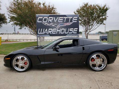 2006 Chevrolet Corvette Coupe 3LT, Z51, 6 Speed, Glass Top, Chromes 41k! | Dallas, Texas | Corvette Warehouse  in Dallas, Texas