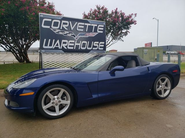 2006 Chevrolet Corvette Convertible 3LT, Z51, NAV, NPP, Only 76k