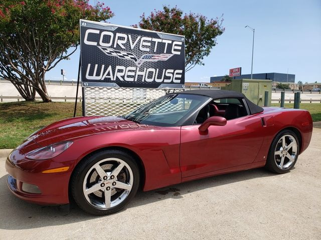 2006 Chevrolet Corvette Convertible 3LT, Z51, NAV, Auto, Chromes Only 62k
