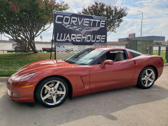 2006 Chevrolet Corvette Coupe 3LT, 6-Speed, HUD, Chrome Wheels, Only 13k