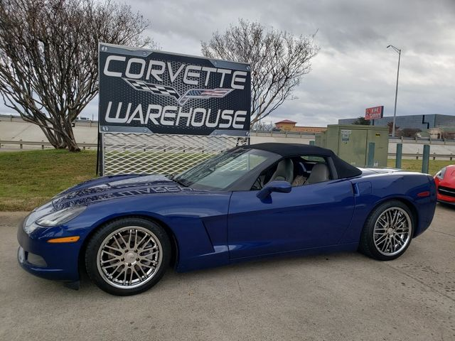 2006 Chevrolet Corvette Convertible 3LT, Power Top, Auto, Chromes, NICE in Dallas, Texas 75220