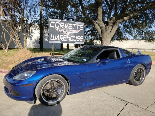 2006 Chevrolet Corvette Coupe 3LT, Auto, JVC Radio, Borla, Black Wheels in Dallas, Texas 75220