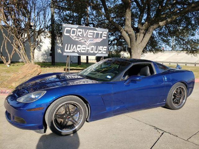 2006 Chevrolet Corvette Coupe 3LT, Auto, JVC Radio, Borla, Black Wheels