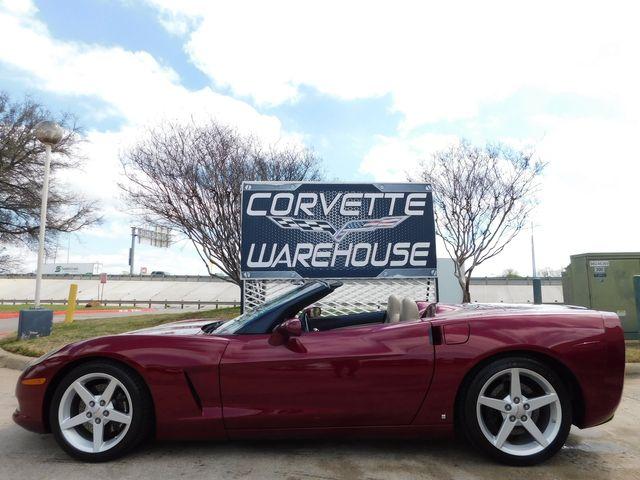 2006 Chevrolet Corvette Convertible 3LT, Z51, Power Top, Auto, 68k in Dallas, Texas 75220