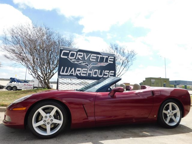 2006 Chevrolet Corvette Convertible 3LT, Z51, Power Top, Auto, 68k in Dallas, Texas 75220