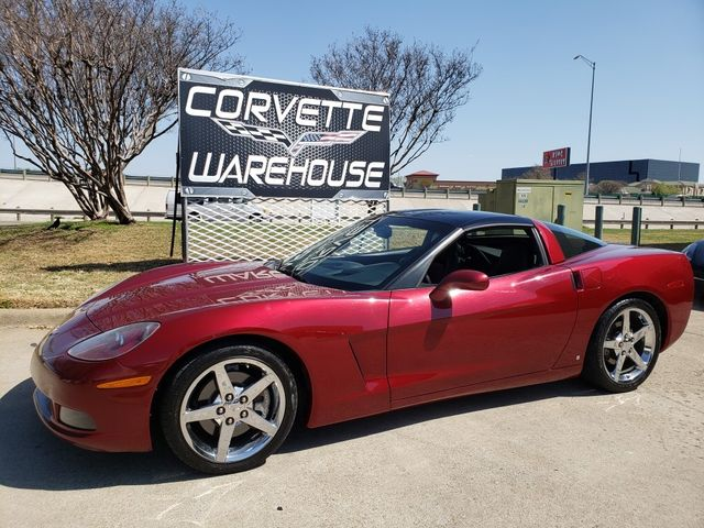 2006 Chevrolet Corvette Coupe 3LT, F55, Glass Top, Auto, Chromes, Only 80k in Dallas, Texas 75220