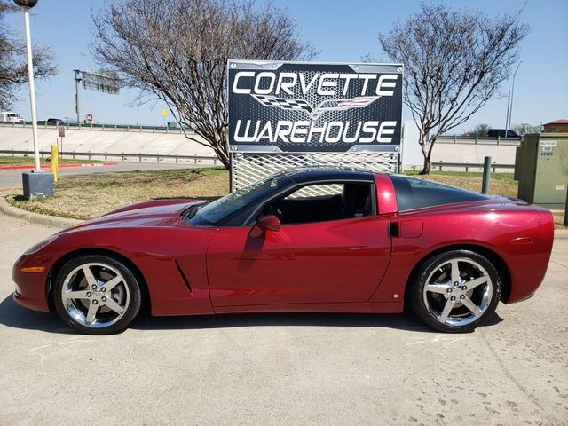 2006 Chevrolet Corvette Coupe 3LT, F55, Glass Top, Auto, Chromes, Only 80k in Dallas, Texas 75220