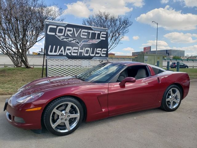 2006 Chevrolet Corvette Coupe 3LT, Auto, CD Player, HUD, Chromes Only 83k