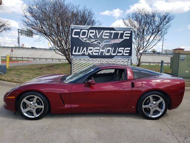 2006 Chevrolet Corvette Coupe 3LT, Auto, CD Player, HUD, Chromes Only 83k in Dallas, Texas 75220