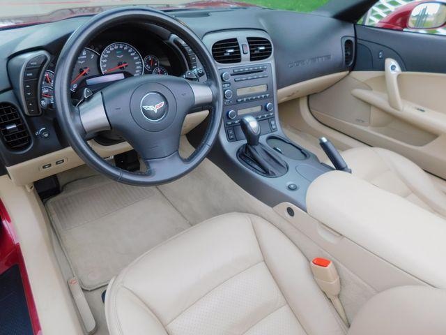 2006 Chevrolet Corvette Convertible 3LT, Z51, CD, HUD, Polished Wheels 19k in Dallas, Texas 75220