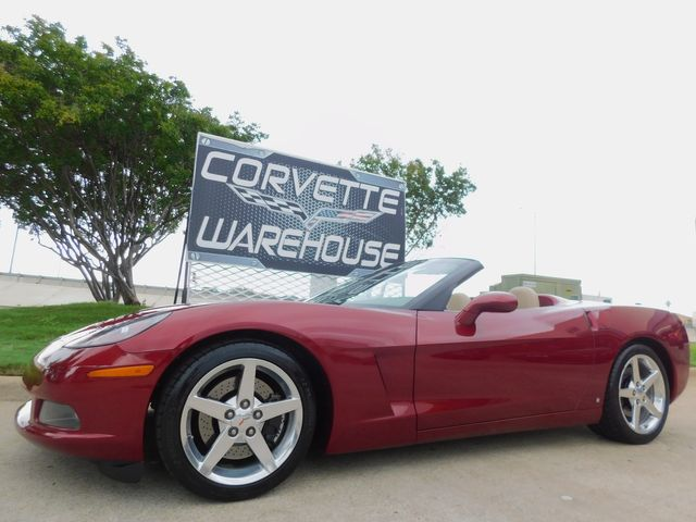 2006 Chevrolet Corvette Convertible 3LT, Z51, CD, HUD, Polished Wheels 19k in Dallas, Texas 75220