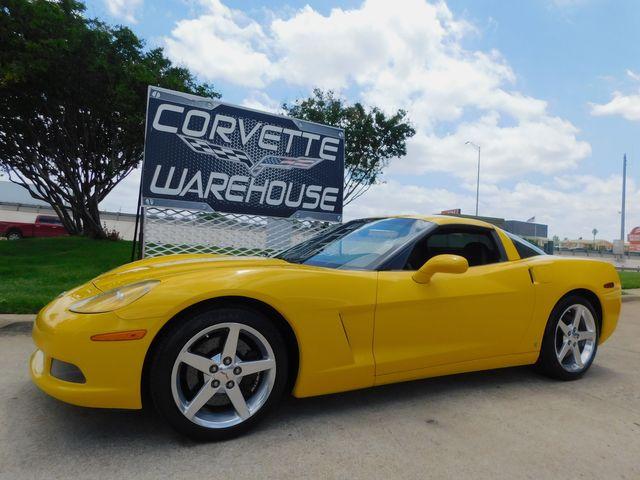 2006 Chevrolet Corvette Coupe 3LT, Z51, Auto, HUD, CD, Polished Wheels 69k