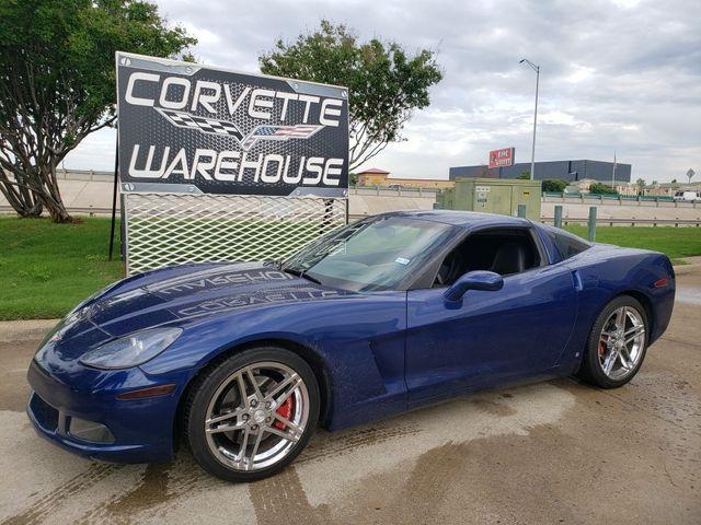2006 Chevrolet Corvette Coupe 3LT, Z51, NAV, 6- Speed, Z06 Chromes, Nice