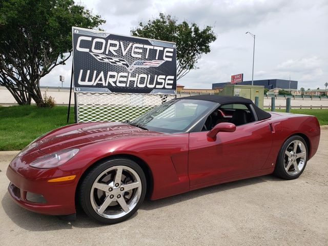 2006 Chevrolet Corvette Convertible 3LT, F55, NAV, HUD, Auto, Polished 75k
