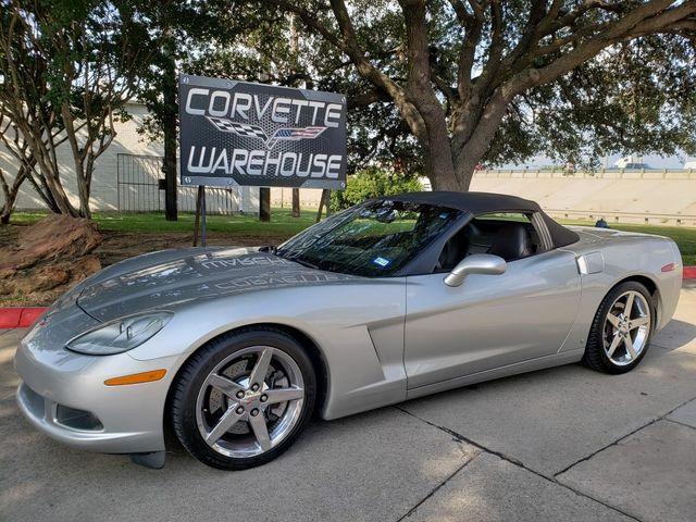 2006 Chevrolet Corvette Convertible 3LT, Z51, NAV, Chromes, 1-Owner 93k in Dallas, Texas 75220