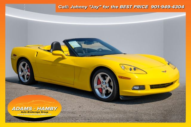 2006 Chevrolet Corvette 3LT with POWER TOP and LOW MILES