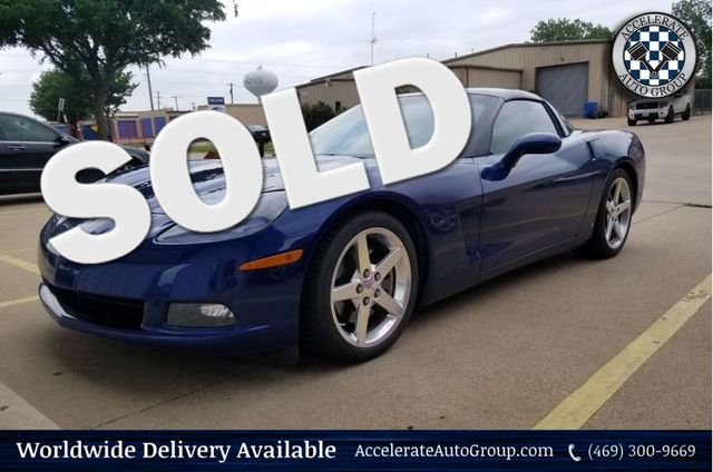 2006 Chevrolet Corvette Coupe with NAV in Rowlett