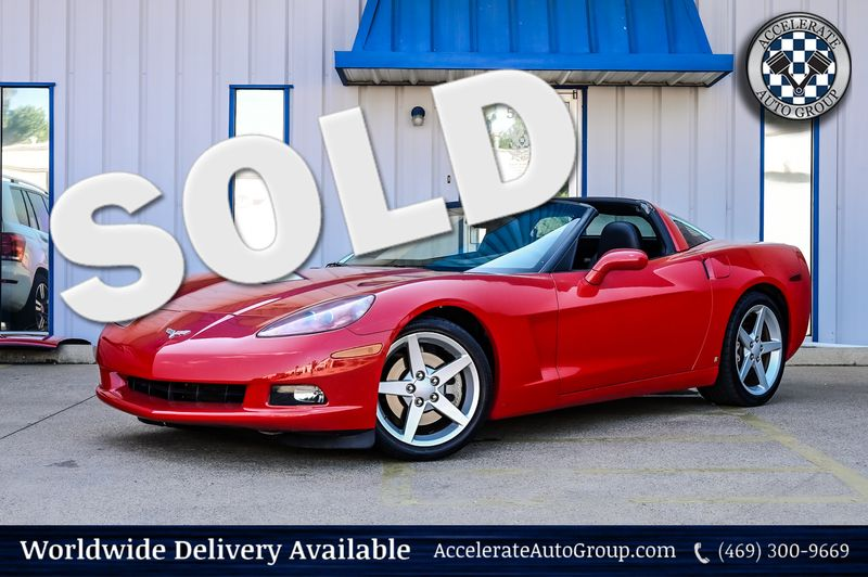 2006 Chevrolet Corvette 6.0L V8 6-SPEED PADDLE SHIFT, NICE LOW MILES in Rowlett Texas