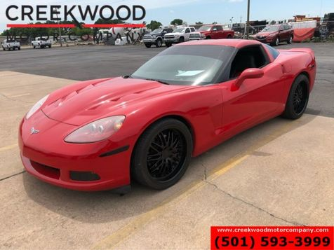 2006 Chevrolet Corvette Red Coupe Leather Headers Cam Exhaust Black Wheels in Searcy, AR
