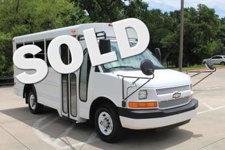 2006 Chevrolet Express 10 Passenger Collins Shuttle Bus - Low Miles C6Y SRW Irving, Texas