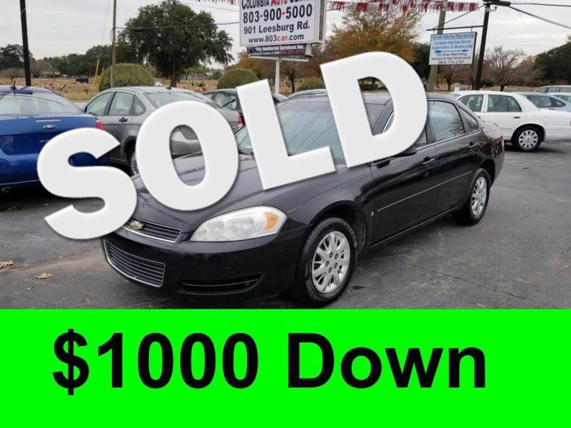 2006 Chevrolet Impala Police Pkg Unmarked 9C3  city SC  Columbia Auto Center  in Columbia, SC