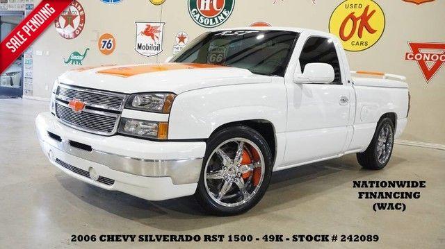 2006 Chevrolet Silverado 1500 JOHN MOSS SIGNATURE SERIES RST LOWERED,LTH,CHRO...