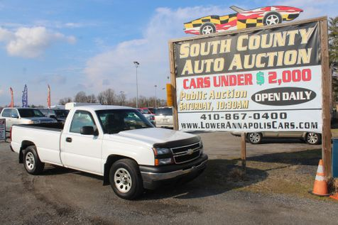 2006 Chevrolet Silverado 1500 Work Truck in Harwood, MD