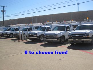 2006 Chevrolet Silverado Reg Cab, Utility Topper. L/Rack, 1 Owner Work Truck in Plano, Texas 75074