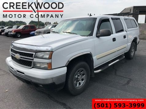 2006 Chevrolet Silverado 1500 LT 4x4 5.3L Crew Cab Camper Shell Leather Clean in Searcy, AR
