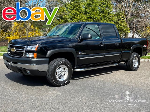 2006 Chevrolet Silverado 2500 4X4 CREW 6.6L LBZ DURAMAX LT3 RARE LOW MILE in Woodbury, New Jersey 08096