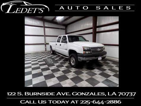 2006 Chevrolet Silverado 2500HD LT1 - Ledet's Auto Sales Gonzales_state_zip in Gonzales, Louisiana