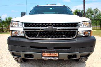 2006 Chevrolet Silverado 3500 DRW LT Crew Cab 4X4 6.6L Duramax Diesel Allison Auto Sealy, Texas 13