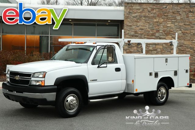 2006 Chevrolet Silverado 3500 READING DRW UTILITY BODY 98K MILES MINT in Woodbury New Jersey, 08096
